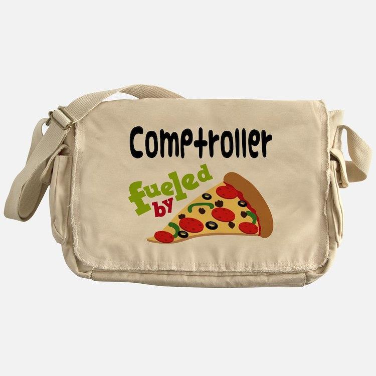 Comptroller Funny Pizza Messenger Bag