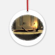 Bath Time Ornament (Round)