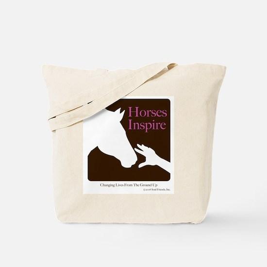 Horses Inspire Tote Bag