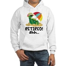 Retired Turtle Retirement Gift Jumper Hoody