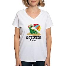 Retired Turtle Retirement Gift Shirt