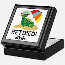 Retired Turtle Retirement Gift Keepsake Box