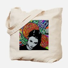 fill the night with color Tote Bag