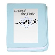 Member of the Tribe baby blanket