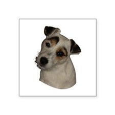 """Parson Russell 1 Square Sticker 3"""" x 3"""""""