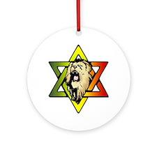 Judah Lion - Reggae Rasta! Ornament (Round)