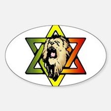 Judah Lion - Reggae Rasta! Decal
