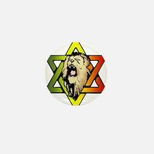 Judah Lion - Reggae Rasta! Mini Button