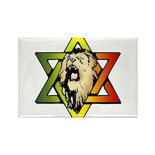 Judah Lion - Reggae Rasta! Rectangle Magnet