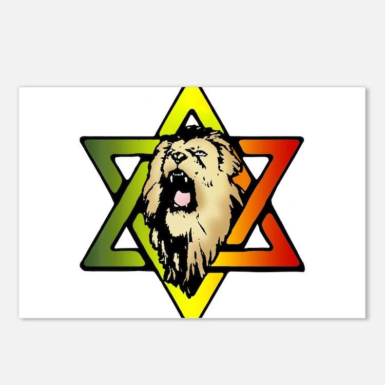 Judah Lion - Reggae Rasta! Postcards (Package of 8