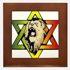 Judah Lion - Reggae Rasta! Framed Tile
