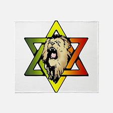 Judah Lion - Reggae Rasta! Throw Blanket
