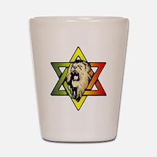Judah Lion - Reggae Rasta! Shot Glass