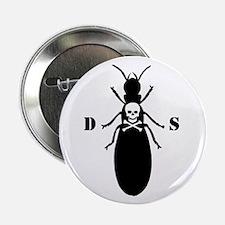 """Killer Termite - White 2.25"""" Button"""