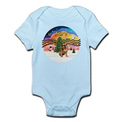 XMusic2 - Brussels (blk) Infant Bodysuit
