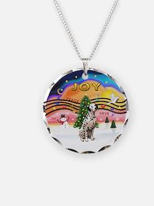 XMusic2 - Dalmatian Necklace Circle Charm