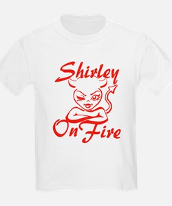 Shirley On Fire T-Shirt