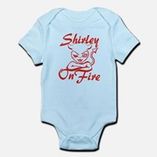 Shirley On Fire Infant Bodysuit