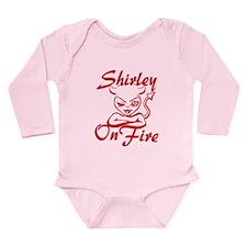 Shirley On Fire Long Sleeve Infant Bodysuit