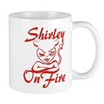 Shirley On Fire Mug