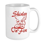 Shirley On Fire Large Mug
