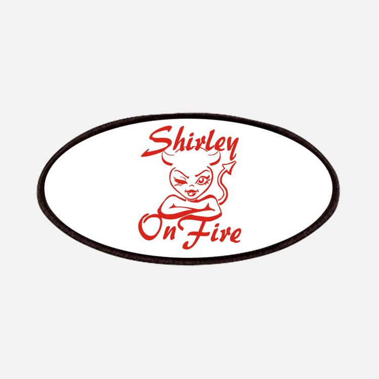 Shirley On Fire Patches