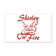 Shirley On Fire Wall Decal