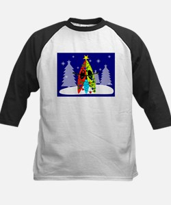 Kayaking Christmas Card Gails.PNG Tee
