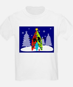 Kayaking Christmas Card Gails.PNG T-Shirt