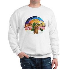 XM2-Dachshund (LH-Sbl) Sweatshirt