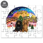 XMusic2-Two Long H. Dachshunds Puzzle