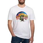 XMusic2-BullMastiff Fitted T-Shirt