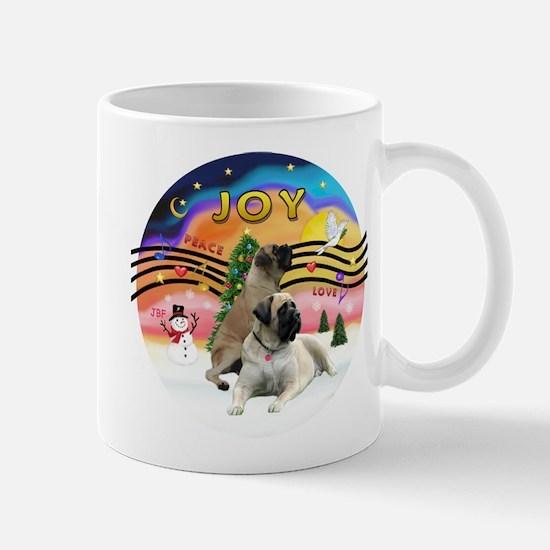XM2-Two Bull Mastiffs Mug