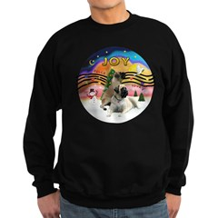 XM2-Two Bull Mastiffs Sweatshirt