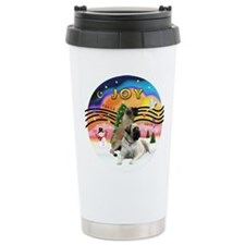 XM2-Two Bull Mastiffs Travel Mug