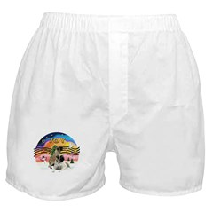 XM2-Two Bull Mastiffs Boxer Shorts