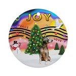 XMusic 2 - Xoloitzcuintle Ornament (Round)