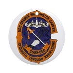USS GEORGE WASHINGTON CARVER Ornament (Round)