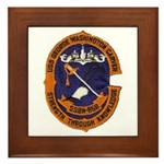 USS GEORGE WASHINGTON CARVER Framed Tile