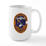 USS GEORGE WASHINGTON CARVER Large Mug