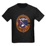 USS GEORGE WASHINGTON CARVER Kids Dark T-Shirt