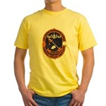 USS GEORGE WASHINGTON CARVER Yellow T-Shirt
