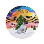 """XMusic2-JackRussell6 3.5"""" Button (100 pack)"""