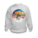 XMusic2-JackRussell6 Kids Sweatshirt