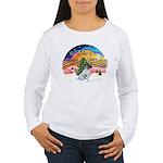 XMusic2-JackRussell6 Women's Long Sleeve T-Shirt