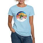 XMusic2-JackRussell6 Women's Light T-Shirt