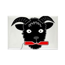 Dynamite Sheep Rectangle Magnet