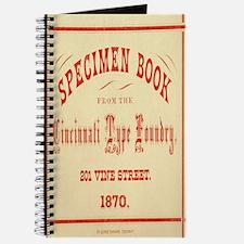 Vintage Chick Specimen Book Journal