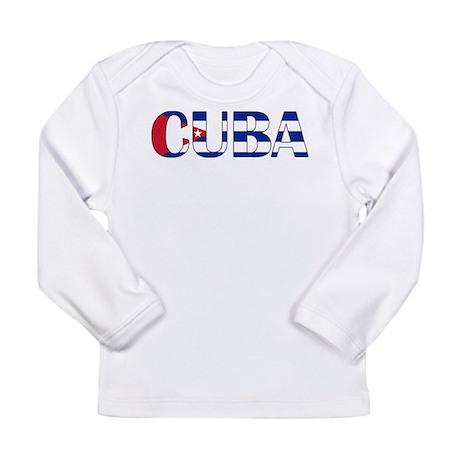 Cuba Logo Long Sleeve Infant T-Shirt