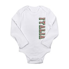 Italia Long Sleeve Infant Bodysuit